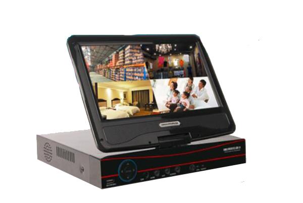 10寸带屏AHD硬盘录像机