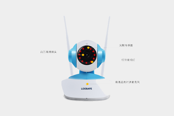 智能无线网络摄像头LS-H6837WI